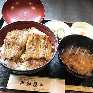 うなぎ丼・松 赤だし(阿み彦)