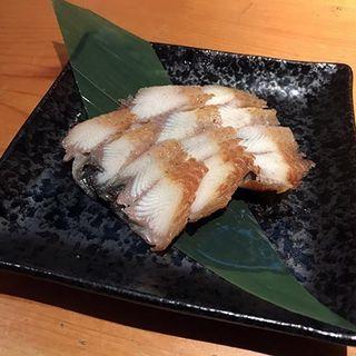 鰻の燻製(炭火焼寝床)