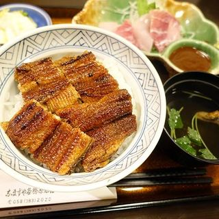 うな丼定食(上)