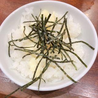 かえ飯 チーズ(九州らーめん亀王 名谷店 )