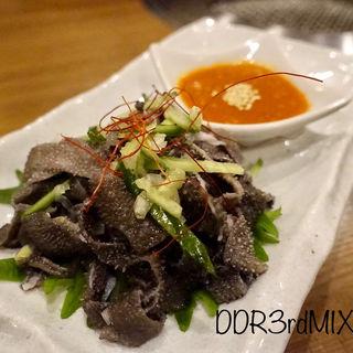 黒センマイ刺し(焼肉 乙ちゃん (オトチャン))