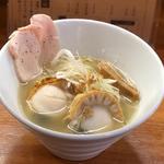 北海道室蘭漁港直送の塩ラーメン