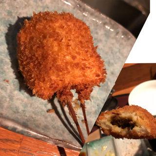 カレーパン串(串揚げ)(ふくみみ )