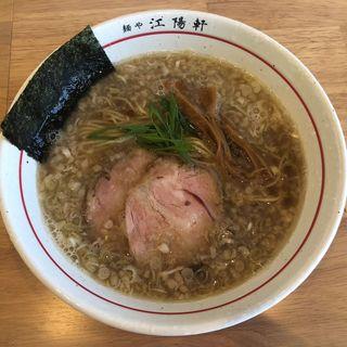 背脂そば(麺や 江陽軒)