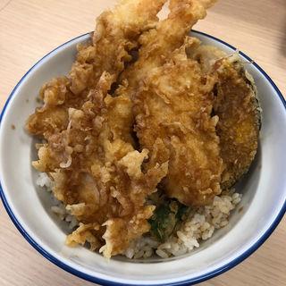 海老と鶏の天丼(さん天 大津瀬田店)