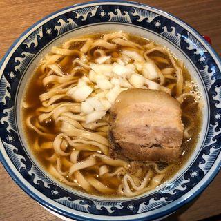 煮干し中華そば(晴耕雨読)