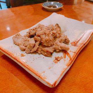 まぐろ漬焼き(食事処 酒肴 水口)