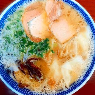 ワンタンメン(純とんこつ無双 )