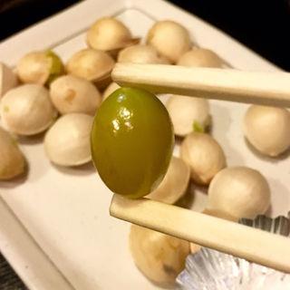 ギンナン皿(焼鳥はなび)