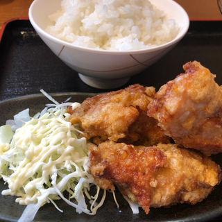 唐揚げ定食(与七 )