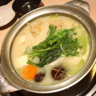 水炊き一慶のコース(水たき 一慶)