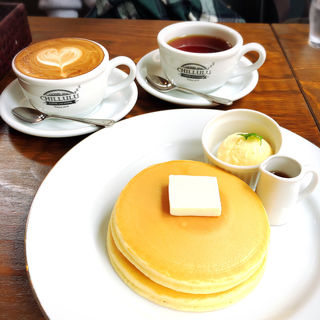 鉄板パンケーキ(CHILLULU COFFEE)