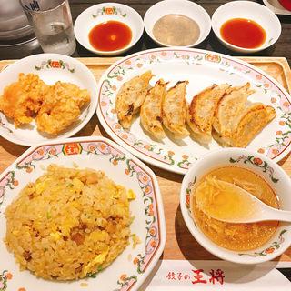 炒飯定食(餃子の王将 糀谷店)