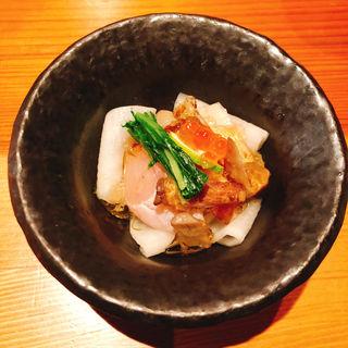 鶏のジュレかけ(恵比寿  比内亭)