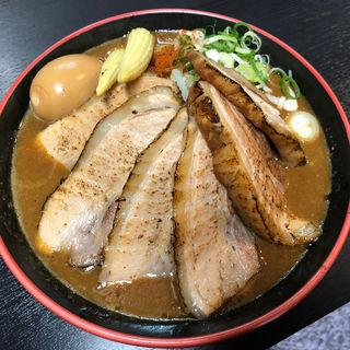 J-味噌ラーメン 肉多め味玉(麺匠 重厚軍団)