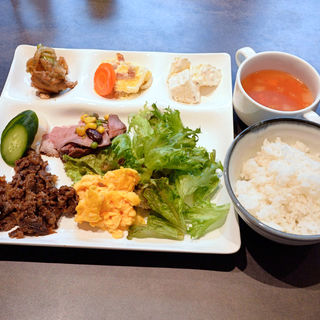 マイ日替り朝定食(朝食ビュッフェ)(ホテルピエナ神戸 )