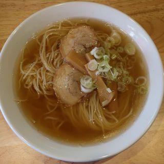 煮干しラーメン(中華そば 来味 板橋店)