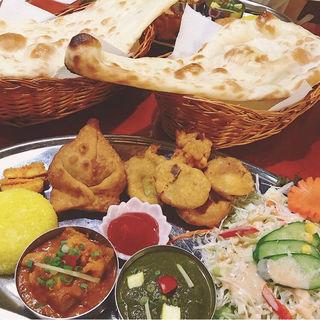 ヘルシーセット(インド・ネパール料理 KUMARI めじろ台店 (クマリ))
