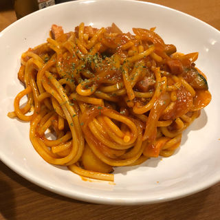 太麺ナポリタン(GRILL KING (グリルキング))