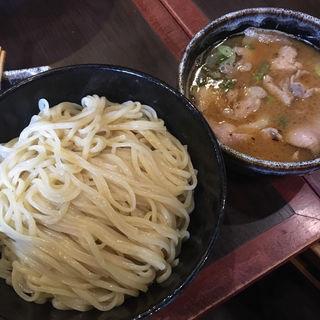 肉つけ麺400g マルチョウ塩焼きトッピング(麺哲支店 麺野郎 )
