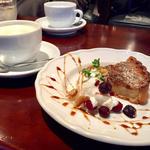 キャラメルバナナのタルト(マリンバ カフェ (marimba cafe))
