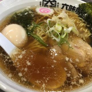 味玉中華そば(中華そば担々麺 六味亭 (ロクミテイ))