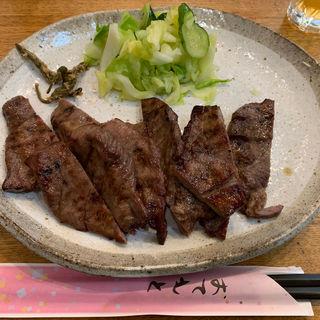 極上牛タン定食  1.5人前(牛たん おやま (ぎゅうたん おやま))