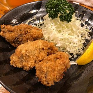 カキフライ(3ケ)(三州屋本店 (さんしゅうやほんてん))