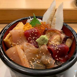 あさひづけ丼(あさひ鮨 仙台駅店 (あさひずし))