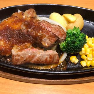 チキン&宮ロースカット(ステーキ宮 京都伏見店 )
