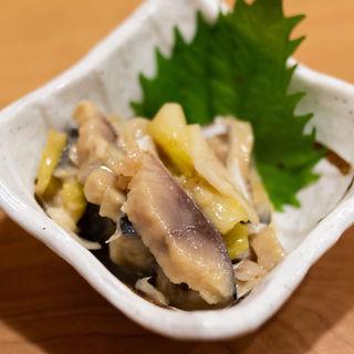〆サバのぬた(上野 肴や~sakanaya~ (【旧店名】上野活魚センター))