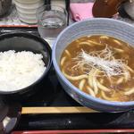 カレー南蛮うどんライスセット(小諸そば  神田店 )