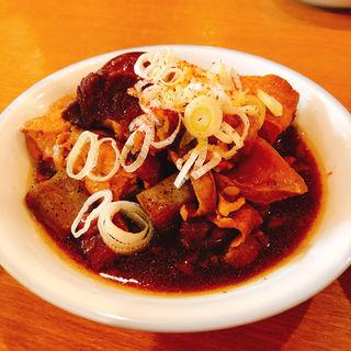 牛すじ豆腐煮(煮玉子付き)(かっぽうぎ 南森町天神橋店 )
