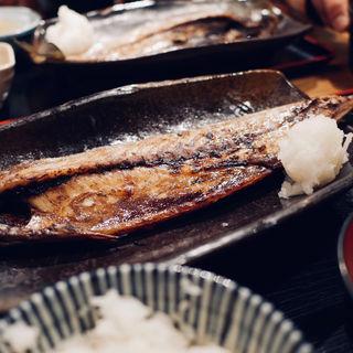 とろさばの一夜干し定食(一夜干しと海鮮丼 できたて屋 サッポロファクトリー店)