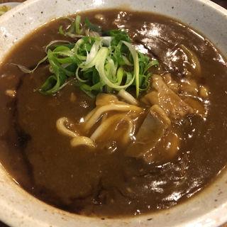 ぼっかけカレーうどん(国産牛すじたっぷり)(虎のバタ- )