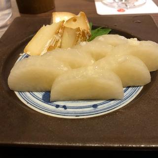 べったら漬けと自家製スモークチーズ(串揚げ 串亭 ルミネ横浜6階 )