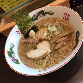 背脂醤油ラーメン(ラーメン行先は○ )