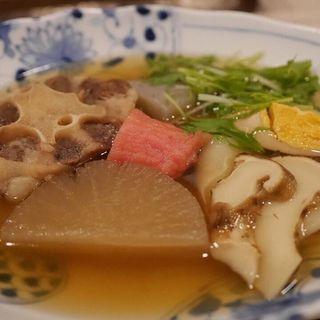 うでん(牛テールと松茸入り)(太門 (タモン))