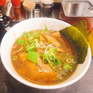 牛骨醤油ラーメン(香味徳  銀座店)