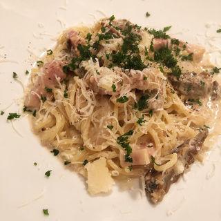 ポルチーニ茸のクリームパスタ(Pasta Piccola due 車道店 (パスタ ピッコラ ドゥエ))