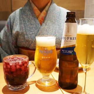 プレミアムモルツ香るエール(酒肴麺飯 アテニヨル 天神店)