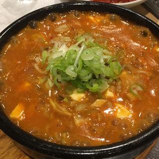 納豆チゲ(韓国家庭料理 マンナ )