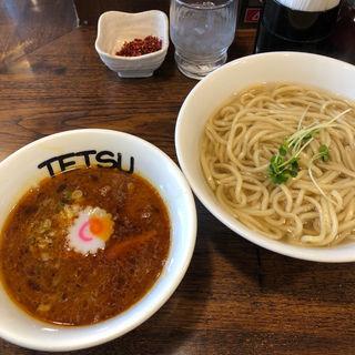 昼の部 辛つけ麺(つけめんTETSU)