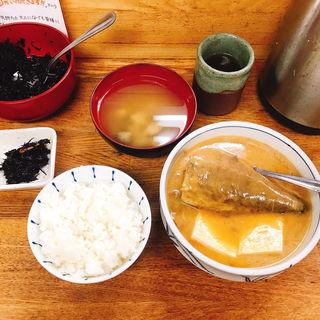 サバ味噌煮定食(魚力)