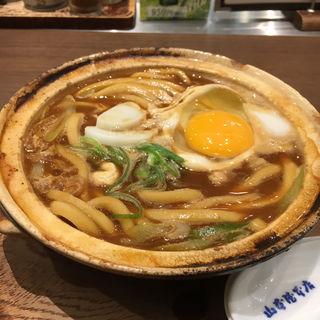 名古屋コーチン入り味噌煮込みうどん(山本屋本店 エスカ店 (やまもとやほんてん))