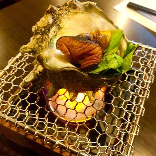 サザエのつぼ焼き(旬味旬菜 大和)