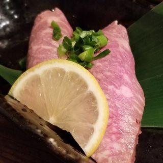 牛トロにぎり(極味や 藤崎店 (キワミヤ))