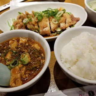 油淋鶏セット(趙之家 ソラリアステージ店 (チャオノミセ))