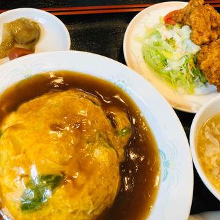 天津飯セット(富久寿 )