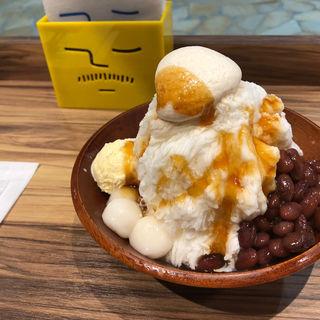沖縄ぜんざいかき氷(ICE MONSTER OMOTESANDO (アイスモンスター))